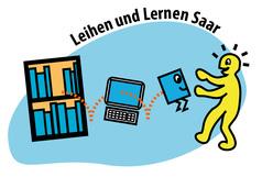 Logo Leihen und Lernen Saar